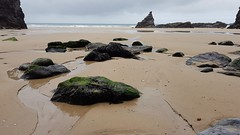Bedruthan Steps beach, Cornwall