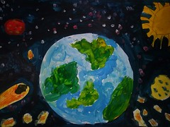 Нургалеева Сабина (рук. Нургалеева Гульнара Расиховна, Хамматдинова Оксана Валерьевна) - Земля