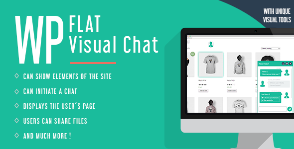 WP Flat Visual Chat v5.379
