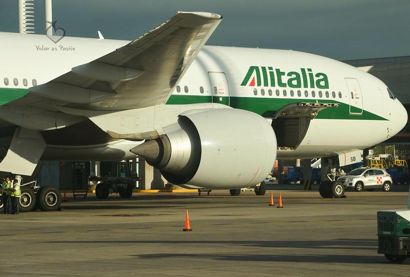 B777-200 de Alitalia