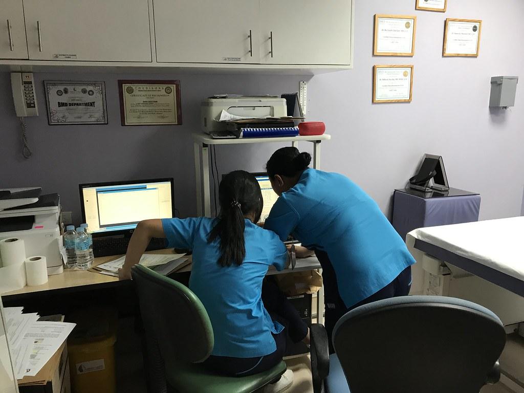 Bone Densitometry Test Room