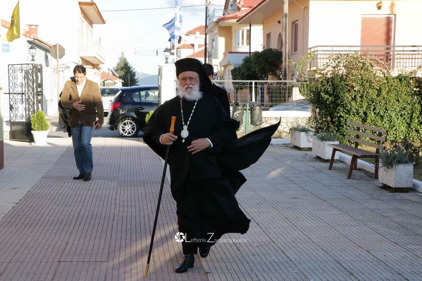 Η Κυριακή των Βαΐων στην Παναγία Γιάτρισσα Τρίπολης