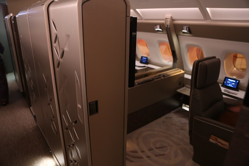 Singapore Airlines First Class Suites 36