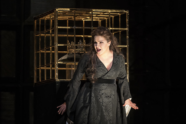 Anna Netrebko as Lady Macbeth in Macbeth The Royal Opera Season 2017/18 © ROH 2017. Photograph by Bill Cooper.