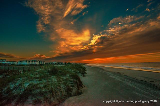 Daybreak on Emerald Isle, North Carolina