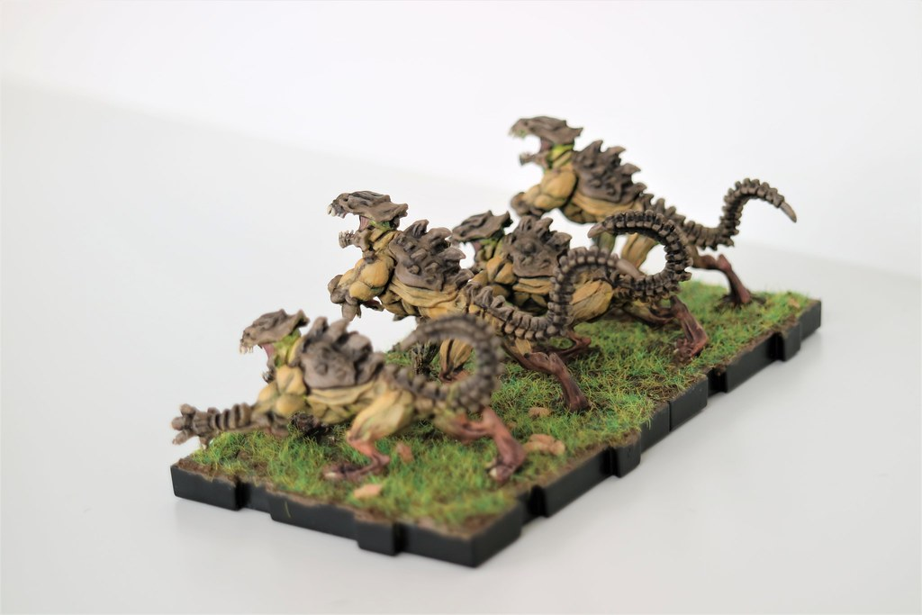 Runewars Miniatures Flesh Rippers Back