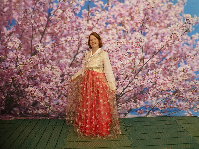Hanbok costume, International Horticulture Goyang Korea