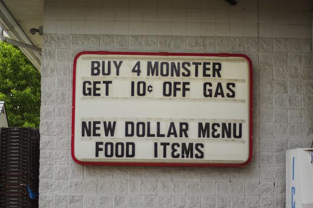 May 16 - Gas station dollar menu