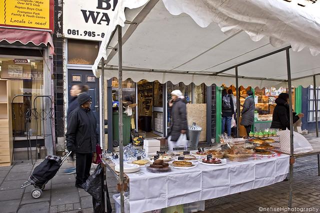 Well Street Market ~ Hackney E9, London