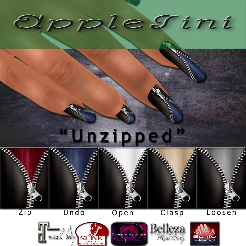AppleTini Unzipped Nails