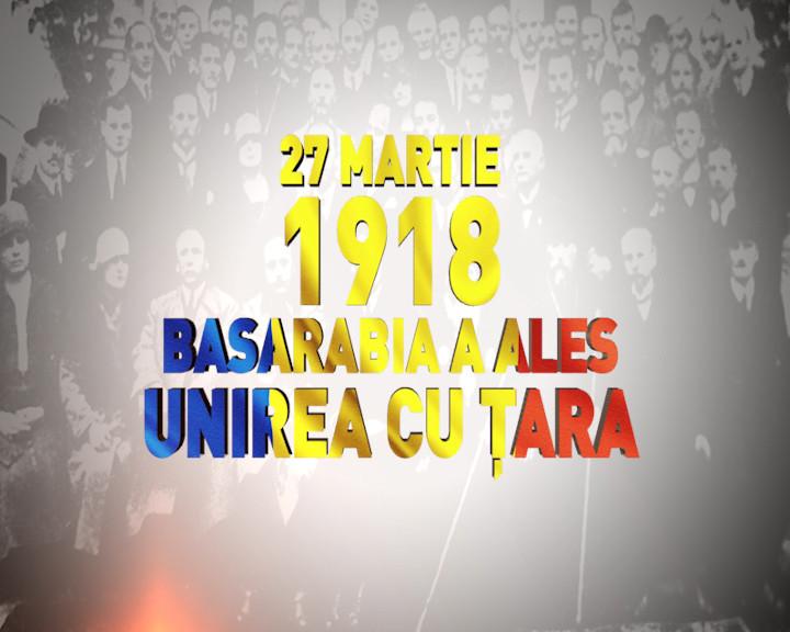 Basarabia, 27 martie 1918