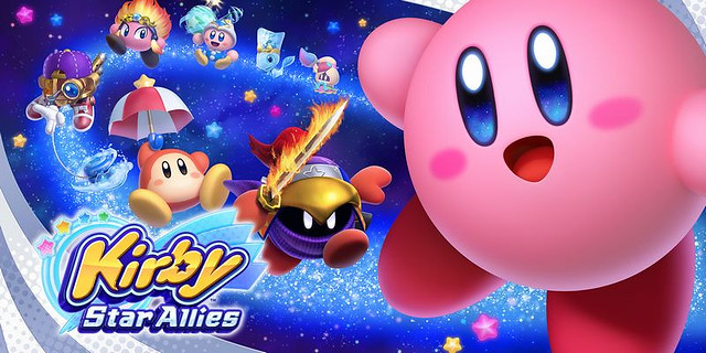 Kirby All Star Allies - Title