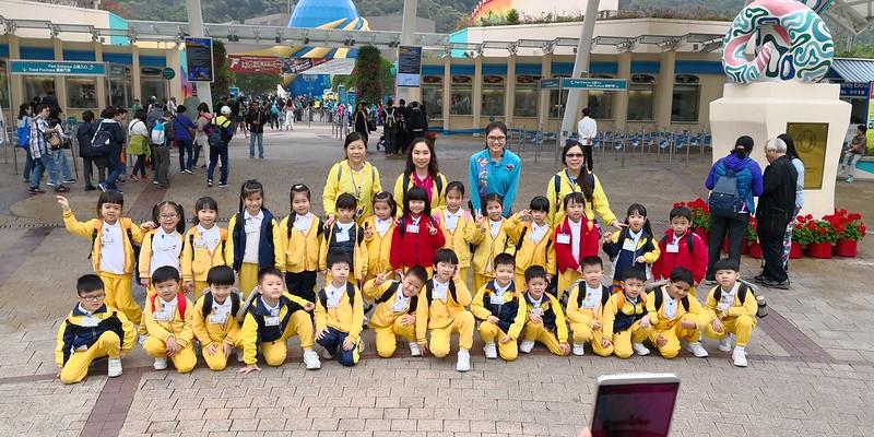 香港海洋公園學院 – 微小生物班學習活動(K3)