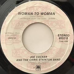 JOE COCKER:WOMAN TO WOMAN(LABEL SIDE-A)