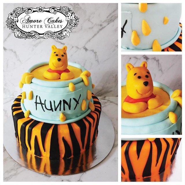 Winnie the Pooh Cake by Amore Cakes Hunter Valley