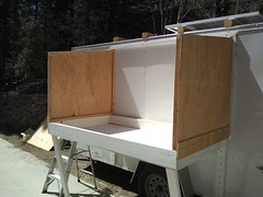Cargo Trailer Conversion, Today's Progress