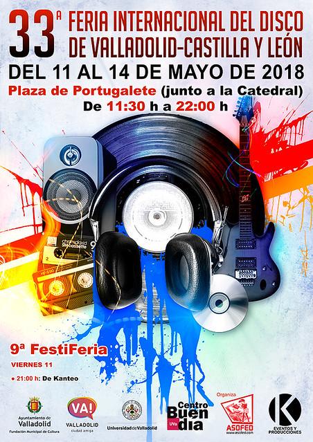 33 Feria Internacional del Disco de Valladolid-Castilla y León