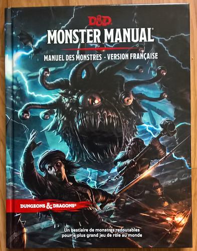 D&D5 monster manual