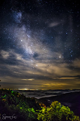 Mountainous Milky Way