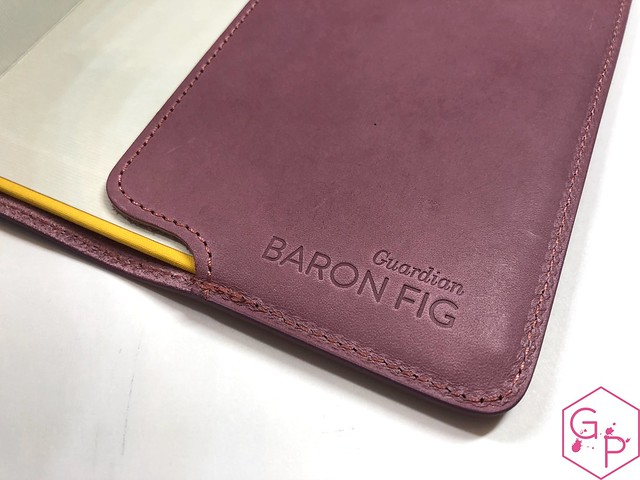Mailbox Goodies @BaronFig Portals & Guardian Notebook Cover 22