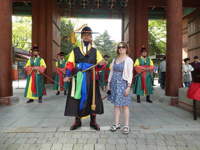 Changing of the Guard at Deoksugung Palace, Seoul