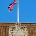 Union Flag, The Town Hall, Royal Tunbridge Wells, Kent