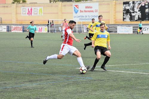 Fútbol 2º Andaluza At. Dos Hermanas y Olivarense At.