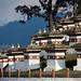 Bhutan: Chortens at Dochula Pass.