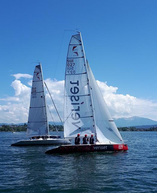 Regatta auf dem Zürich See