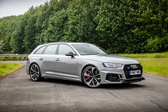 Audi RS4 Avant grey Free  Car Picture - Give Credit Via Link