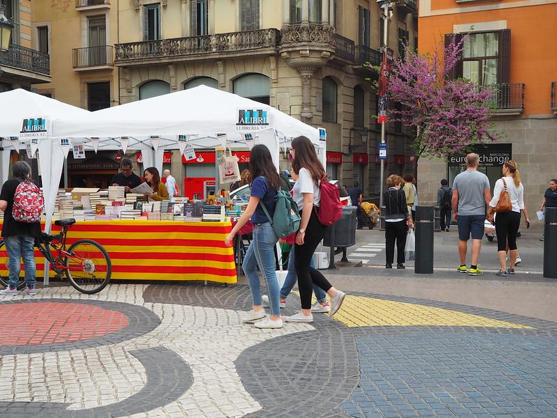 Diada de Sant Jordi - Barcelona