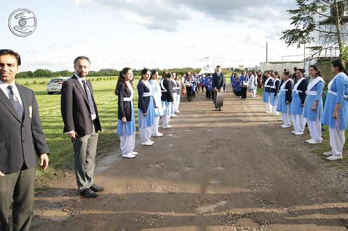 Sewa Dal Volunteers waiting Satguru Mata Ji