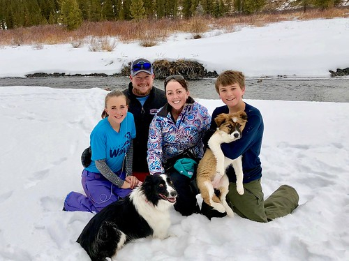 Happy Family in Crested Butte
