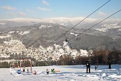 Skiareál Kamenec - Jablonec nad Jizerou: Zábava na lyžích ve dne i večer