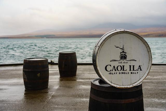 At Caol Ila distillery