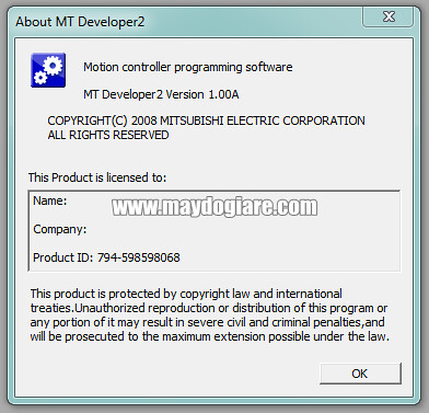 Product ID MT Developer2