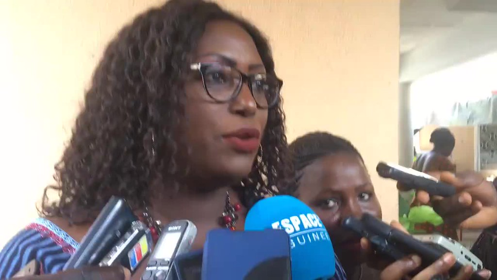 2018-4-5 Guinea: SYNEM-GUINEE press conference