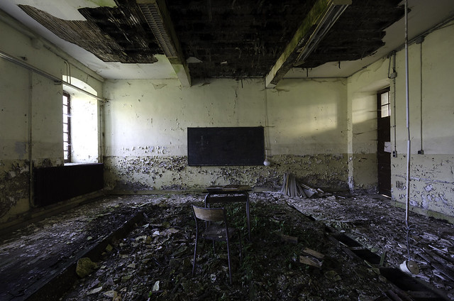 Education in decay