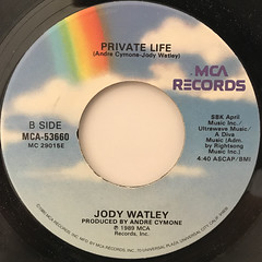 JODY WATLEY:FRIENDS(LABEL SIDE-B)