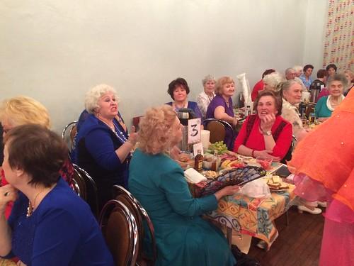 Апрельский вечер отдыха для пожилых людей