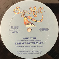 KEVIE KEV(WATERBED KEV):ALL NIGHT LONG(WATERBED)(LABEL SIDE-B)