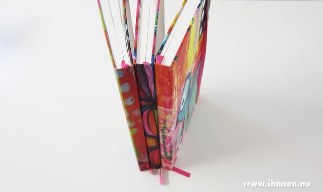 Three custom sketchbooks by Bookblock for Studio iHanna, Sweden