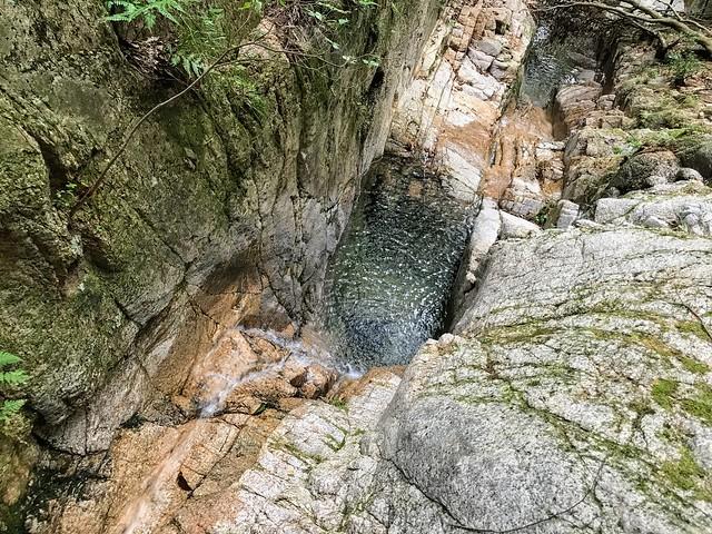 仙ヶ岳 南尾根 滝壺