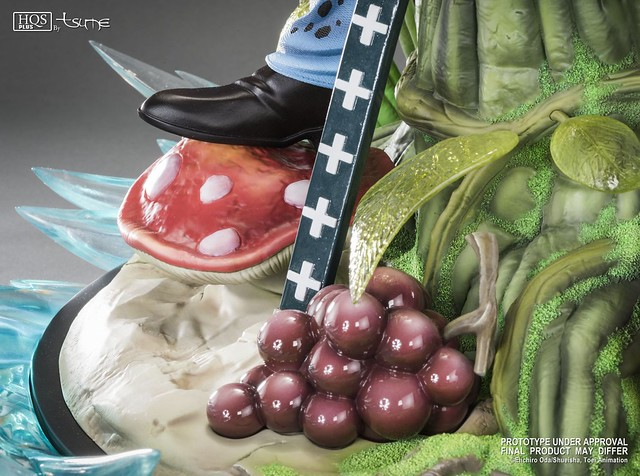 Tsume-Art HQS + 系列《ONE PIECE》托拉法爾加·D·瓦特爾·羅 Trafalgar D. Water Law 1/4 比例全身場景雕像作品