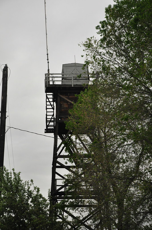Lookout at Unity Ranger Station