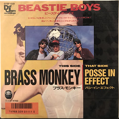 BEASTIE BOYS:BRASS MONKEY(JACKET A)