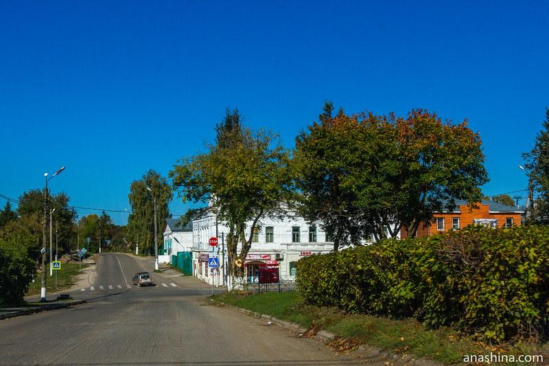Историческая застройка пгт Полотняный завод