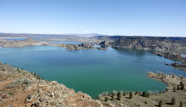 Great views from top of Steamboat Rock