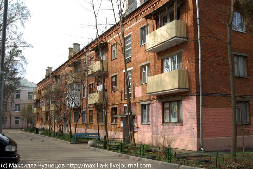Красный кирпичный дом