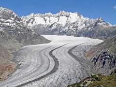 Suisse, le Glacier d'Aletsch